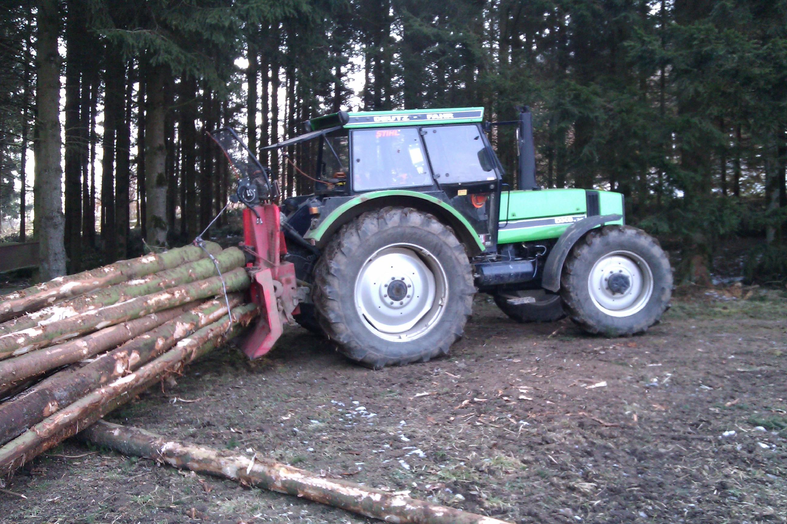 Forstseilwind im Einsatz